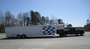 Race Car Carrier Trailer